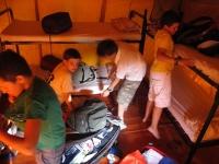 mastio campeggio ragazzi tenda