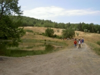 mastio campeggio paesaggio
