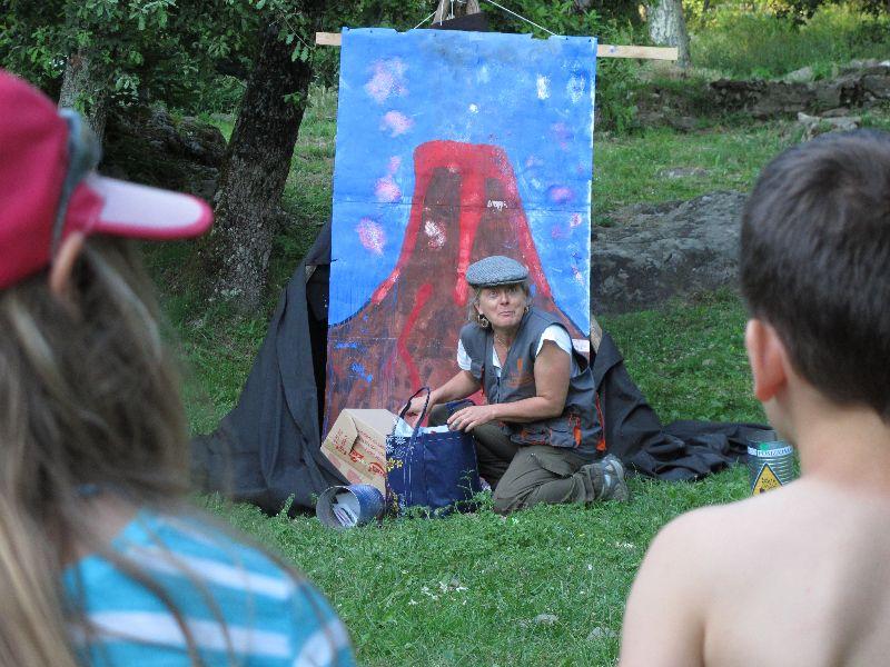 campeggo estivo animatori al campo
