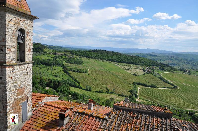 l'ambiente confortevole del campo in Toscana