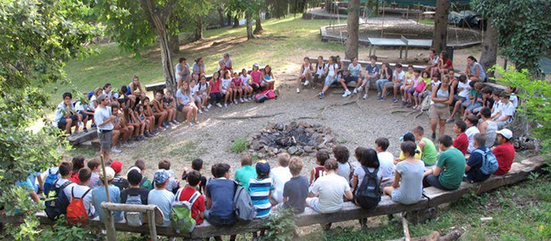 campeggio avventura per ragazzi e bambini