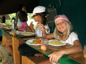 bambini celiaci al campeggio vacanze per ragazzi il Mastio