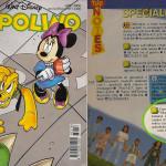 la pubblicità del campeggio del Mastio su Topolino nel 1998