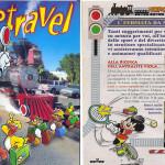 la pubblicità del campeggio del Mastio su Topolino nel 2001