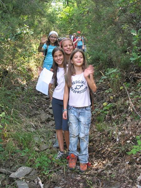 il Mastio attività natura nella foresta di Vallombrosa